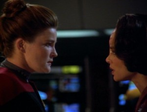 Voyager's Janeway and Torres