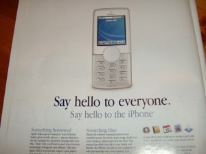 iPhone rumor from 2006