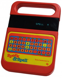 Speak &amp; Spell