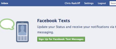 Facebook Texts